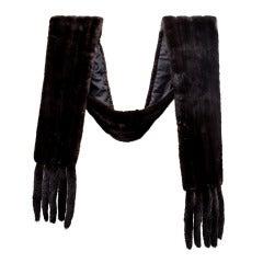 Blackglama Mink Long Custom made Stole