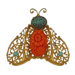 Large Lacewing Bee ASKEW LONDON Brooch Pin