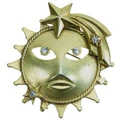 VIintage Askew London Sun Brooch Pin