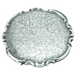 Awesome Art Deco Sterling Silver Compact Powder Box Case