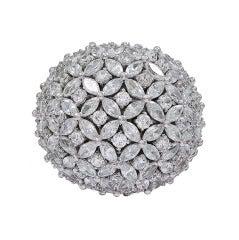 Fabulous 60's Style Bombe Ring