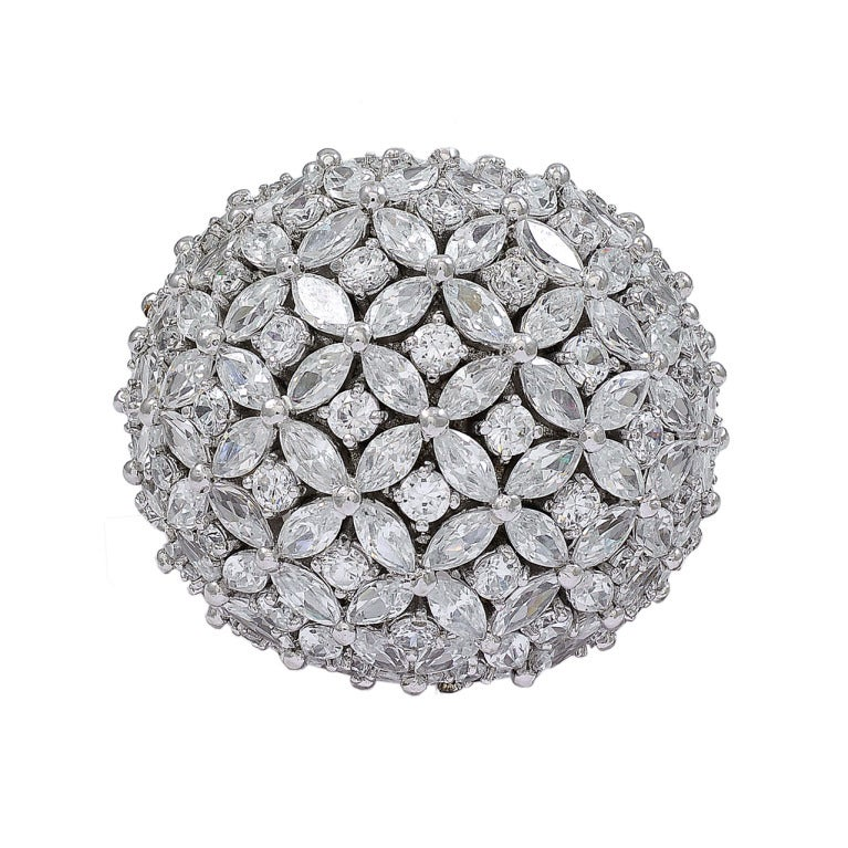 Fabulous 60's Style Bombe Ring 1