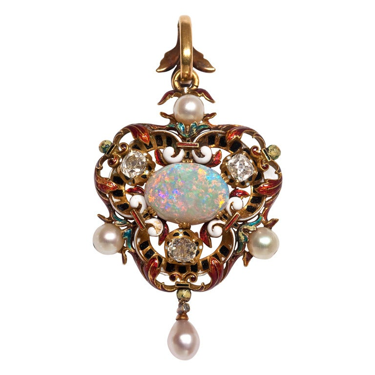 how to clean opals and pearls