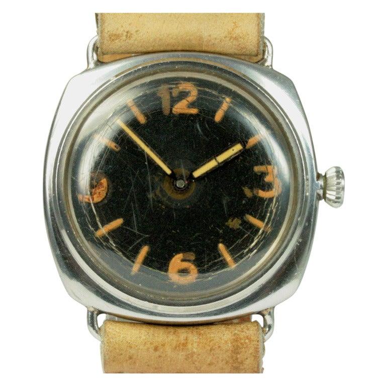 Panerai stainless steel radiomir diver 39 s wristwatch ref - Panerai dive watch ...
