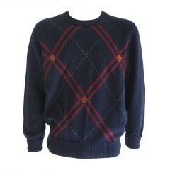 1980s Mens Gucci Sweater