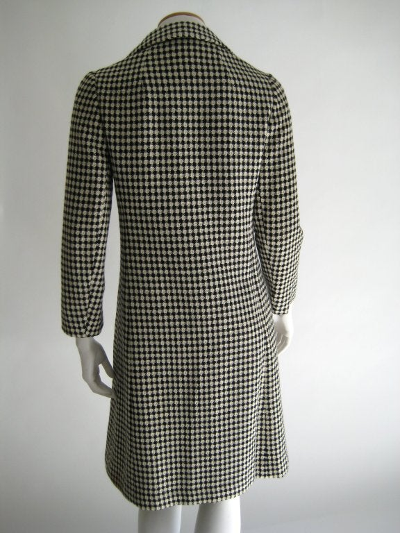1960s Holt Renfrew Coat and Dress Ensamble 4