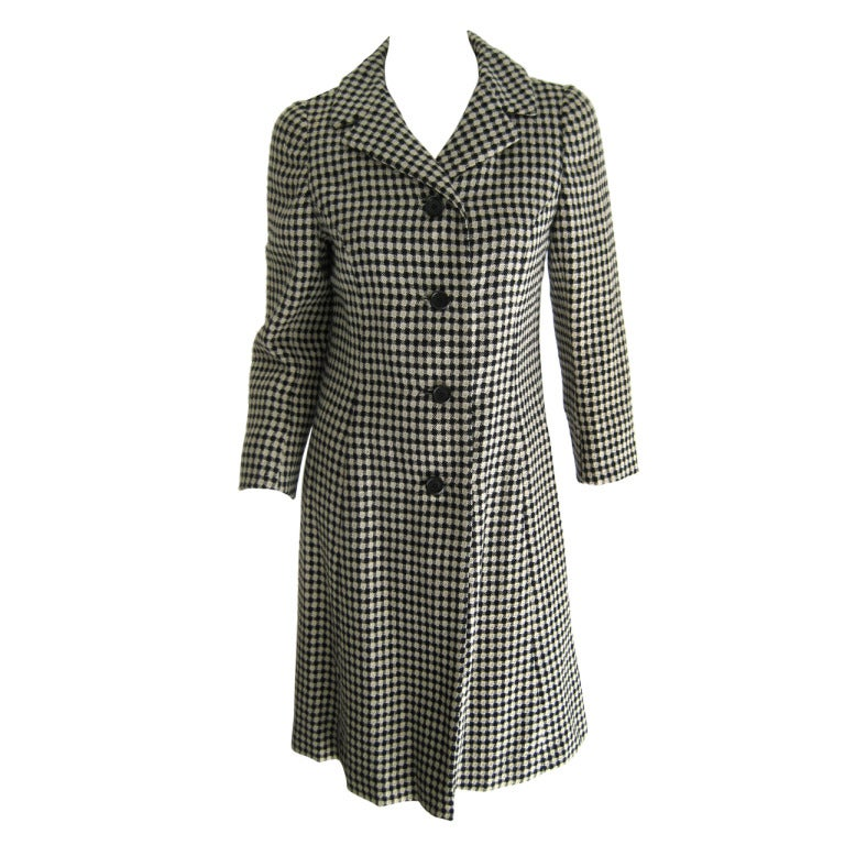1960s Holt Renfrew Coat and Dress Ensamble 1