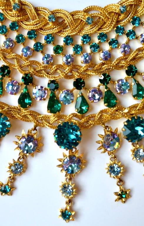 1960s Countess Zoltowska - CIS Haute Couture Necklace 2