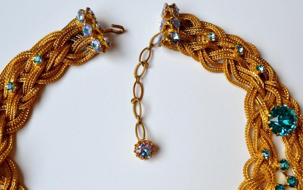 1960s Countess Zoltowska - CIS Haute Couture Necklace 3