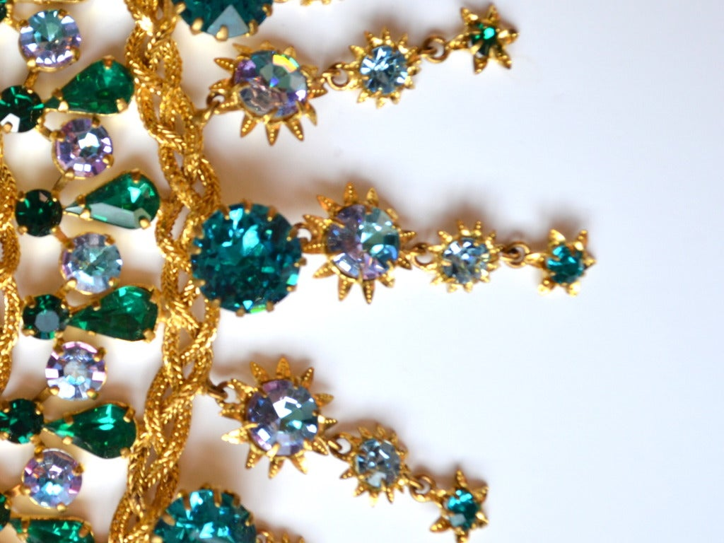 1960s Countess Zoltowska - CIS Haute Couture Necklace 4