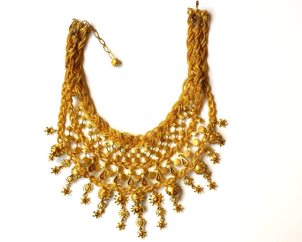 1960s Countess Zoltowska - CIS Haute Couture Necklace 5