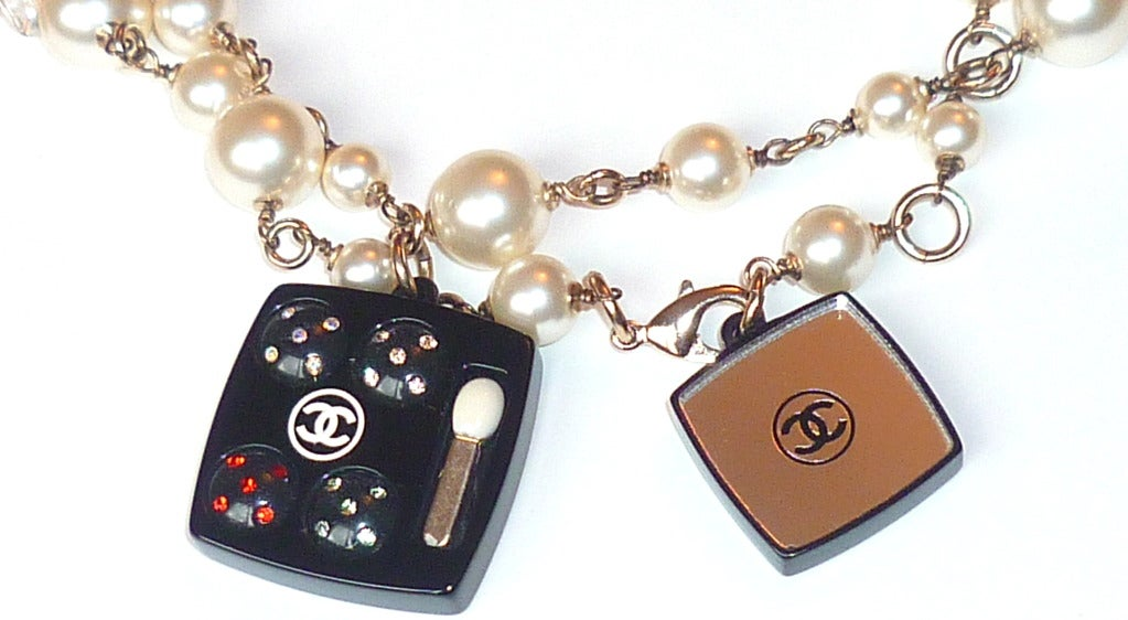 Women's Fall 2004 Chanel Perfume and Cosmetics Charms Sautoir For Sale