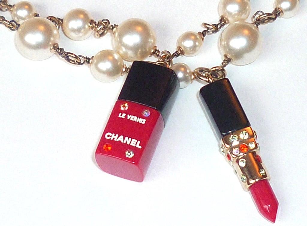 Fall 2004 Chanel Perfume and Cosmetics Charms Sautoir 5