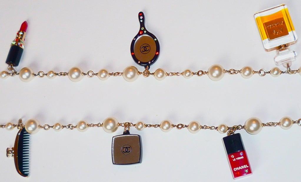 Fall 2004 Chanel Perfume and Cosmetics Charms Sautoir 6