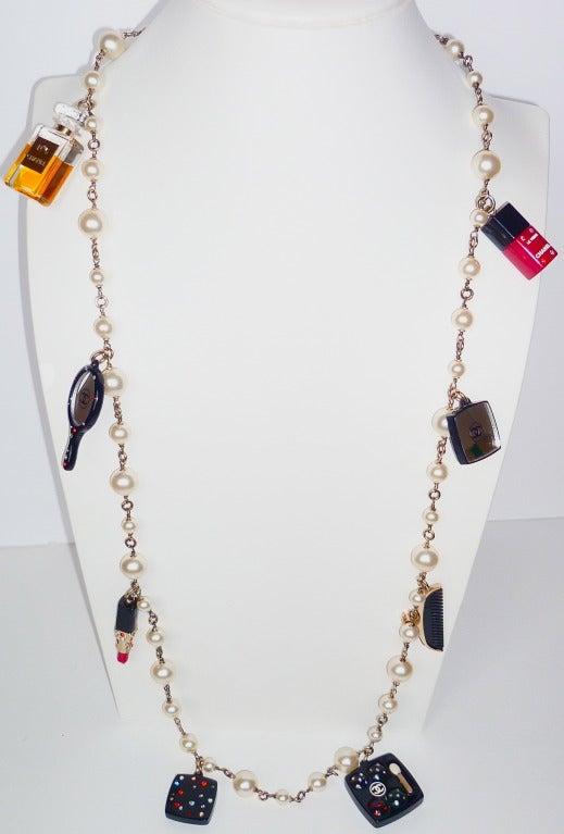 Fall 2004 Chanel Perfume and Cosmetics Charms Sautoir 7