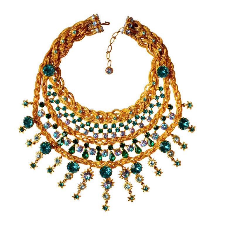 1960s Countess Zoltowska - CIS Haute Couture Necklace 1