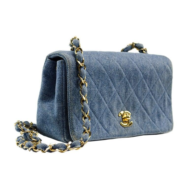 Клатч Chanel Mini Flap Bag Black Bag Brand