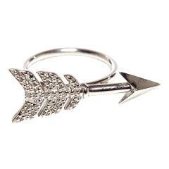 Jade Jagger Diamond Arrow Ring
