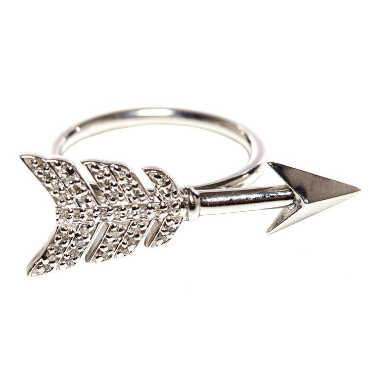 Jade Jagger Diamond Arrow Ring 1