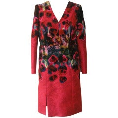 Fabulous Erdem 2011/12 Jacquard Embroidered Runway Dress