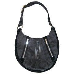 Yves Saint Laurent RG Classic Pleated Hobo Handbag