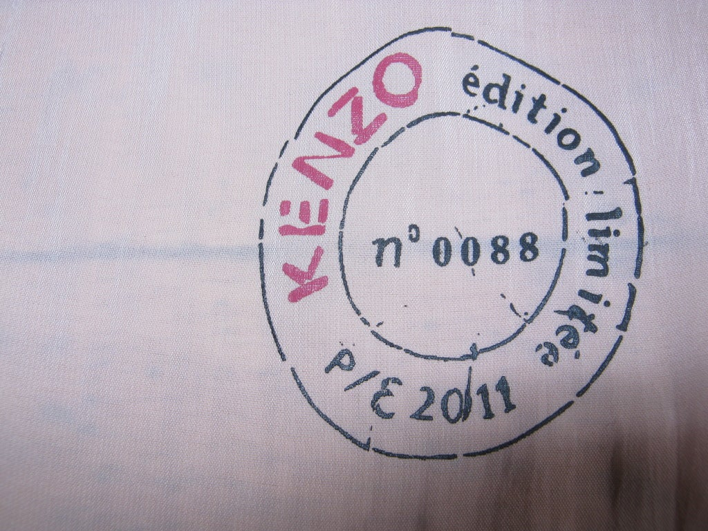 2011 S/S Special Edition Kenzo dress 4