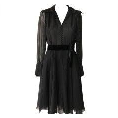 1950s Helen Rose (Designer of Princess Grace's Wedding Dress) Tea Dress