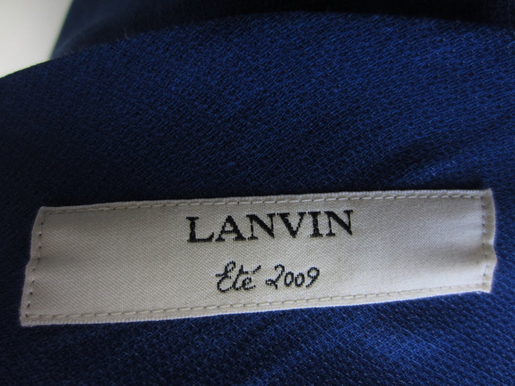Lanvin strapless cocktail dress image 5