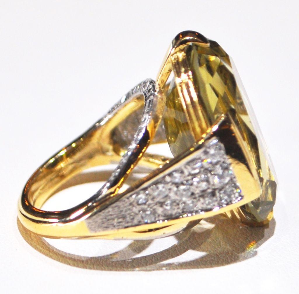 Lemon Citrine And Diamond Ring At 1stdibs. Scalloped Wedding Rings. Center Halo Engagement Rings. Nang Rings. Doctor Who Wedding Rings. Triple Band Engagement Rings. 10mm Wedding Rings. Onyx Black Rings. Bridal Jewellery Engagement Rings
