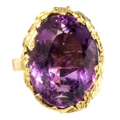 Amethyst  Ring, Julius Cohen