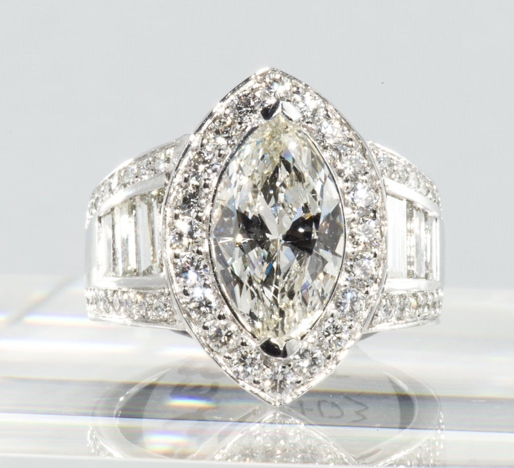 impressive marquise ring at 1stdibs