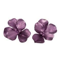 JAR Violet Earrings