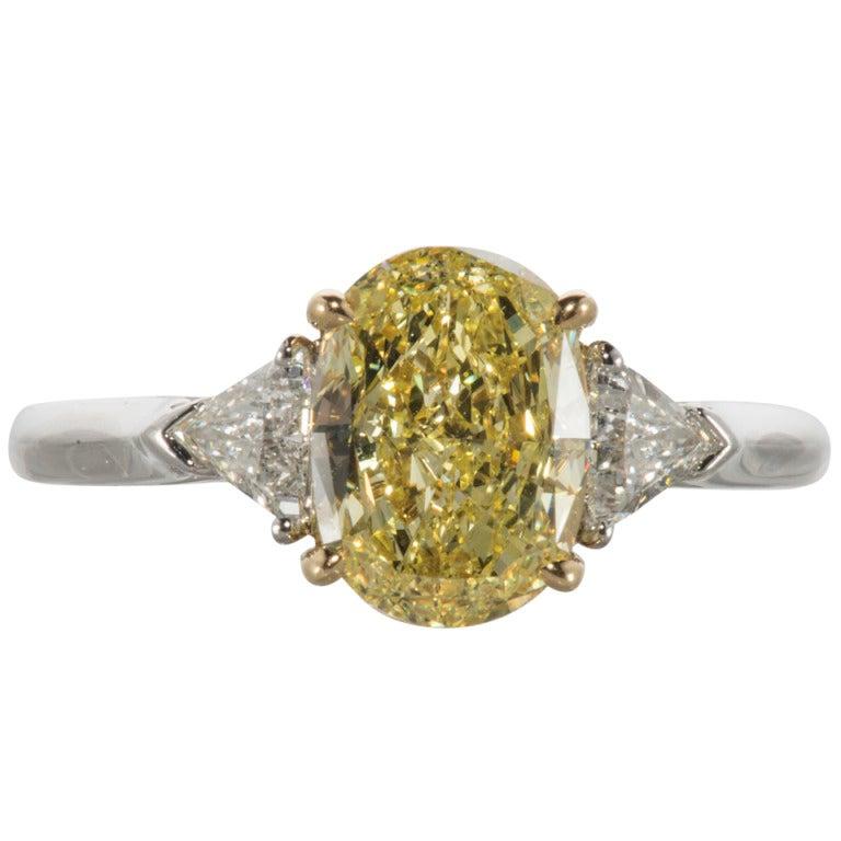 Tiffany and Co Yellow Diamond Ring