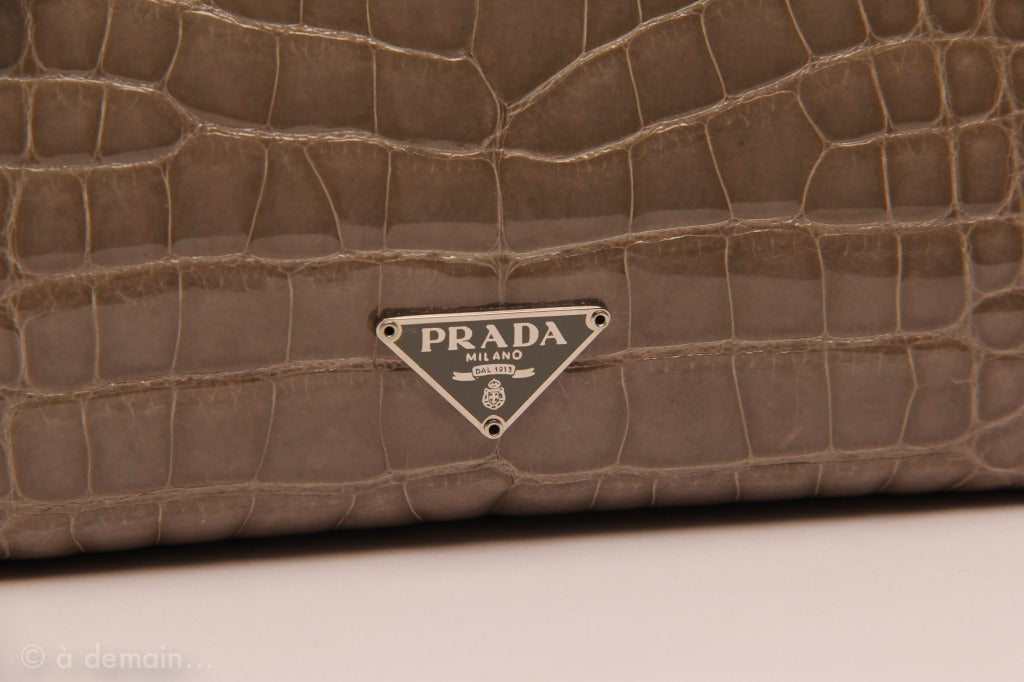 Prada Crocodile Skin Handbags Authentic Prada Purses