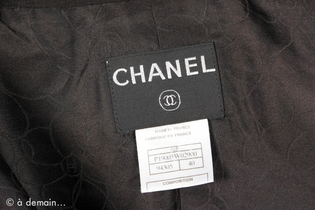 2000s Chanel black Suit 10