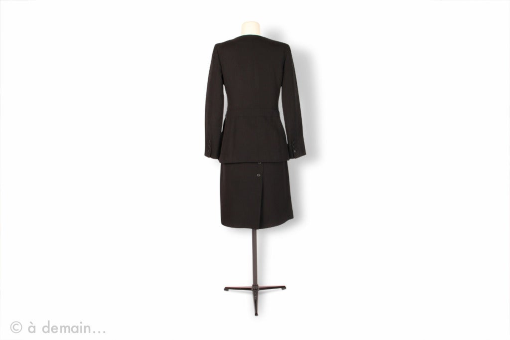 2000s Chanel black Suit 3