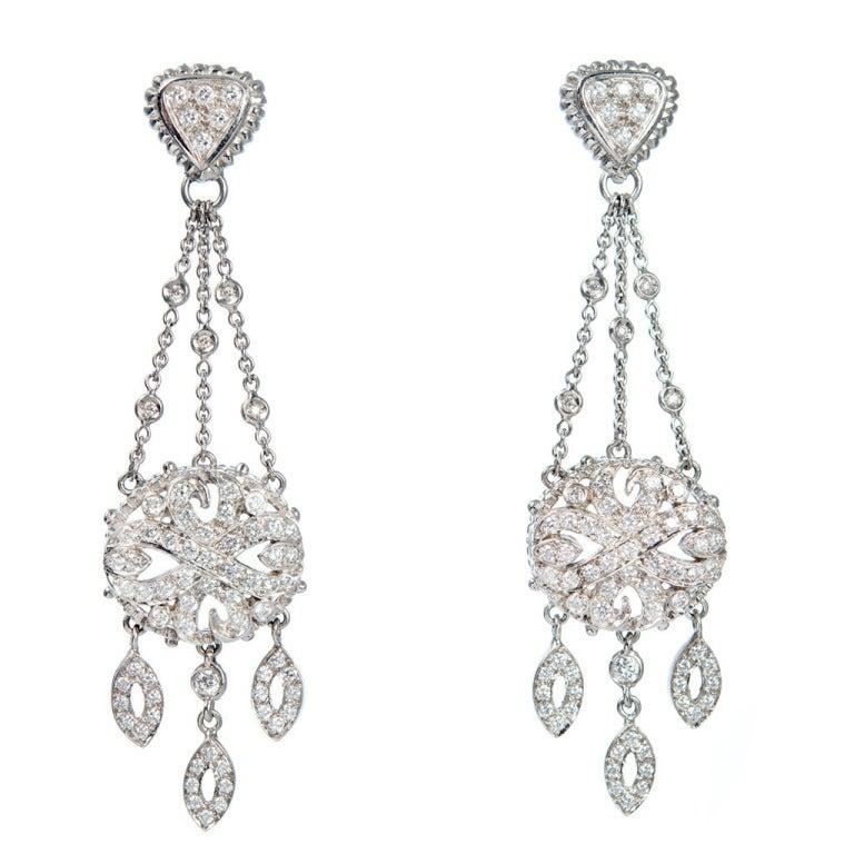 doris panos chandelier dangle earrings at 1stdibs