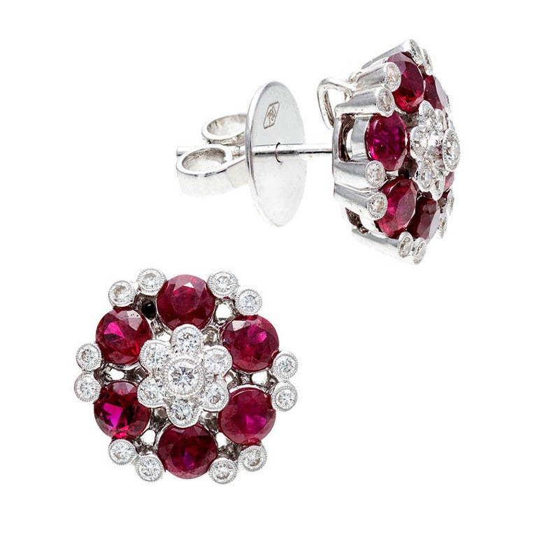diamond red id white at xxx j jewelry earrings more ruby gold