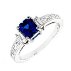 Natalie K Sapphire Diamond Gold Ring