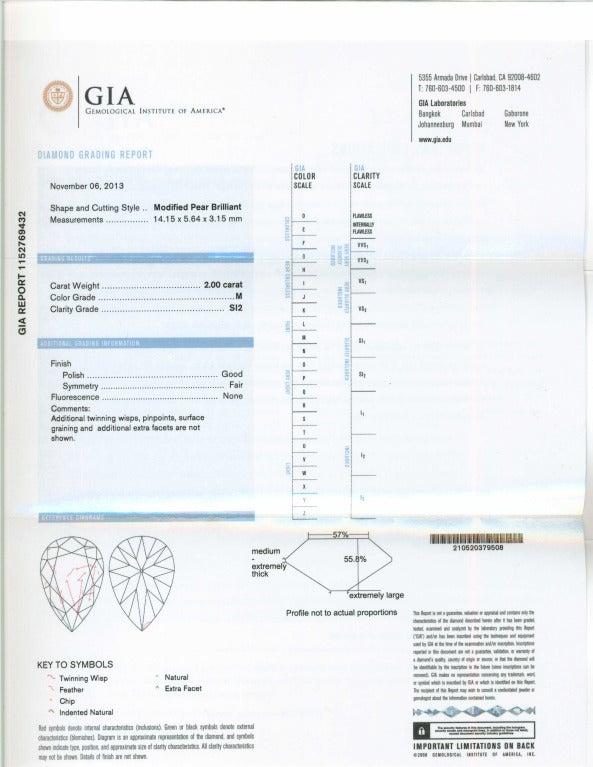 Cartier Paris GIA Certified 7.89 Carat Diamond Platinum Dangle Earrings 7