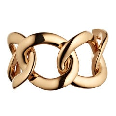 Renesim Rose Gold Large Chain Bracelet