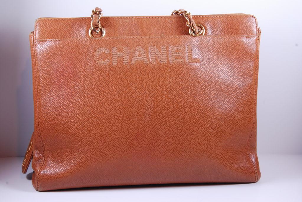1980's Caviar Leather Chanel Bag image 2