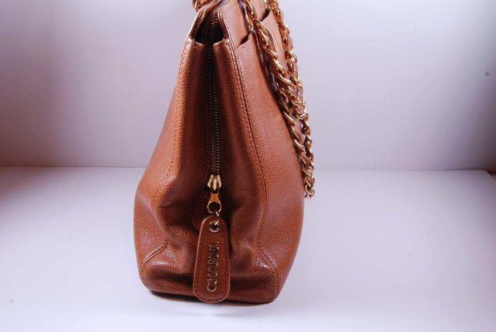 1980's Caviar Leather Chanel Bag image 3