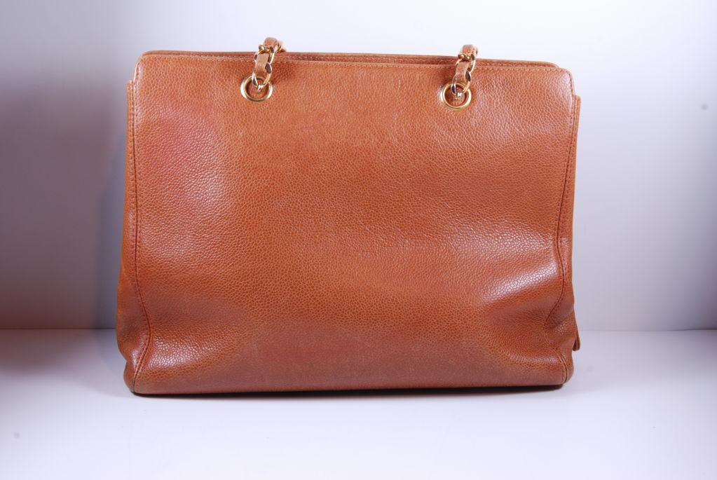 1980's Caviar Leather Chanel Bag image 5