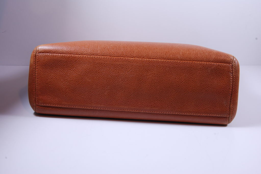 1980's Caviar Leather Chanel Bag image 9