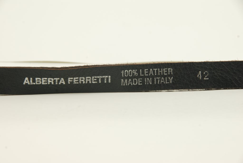 Alberta Ferretti Jeweled Belt image 4