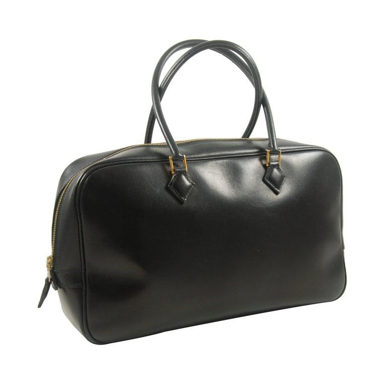 Hermes Black Plume Bag at 1stdibs
