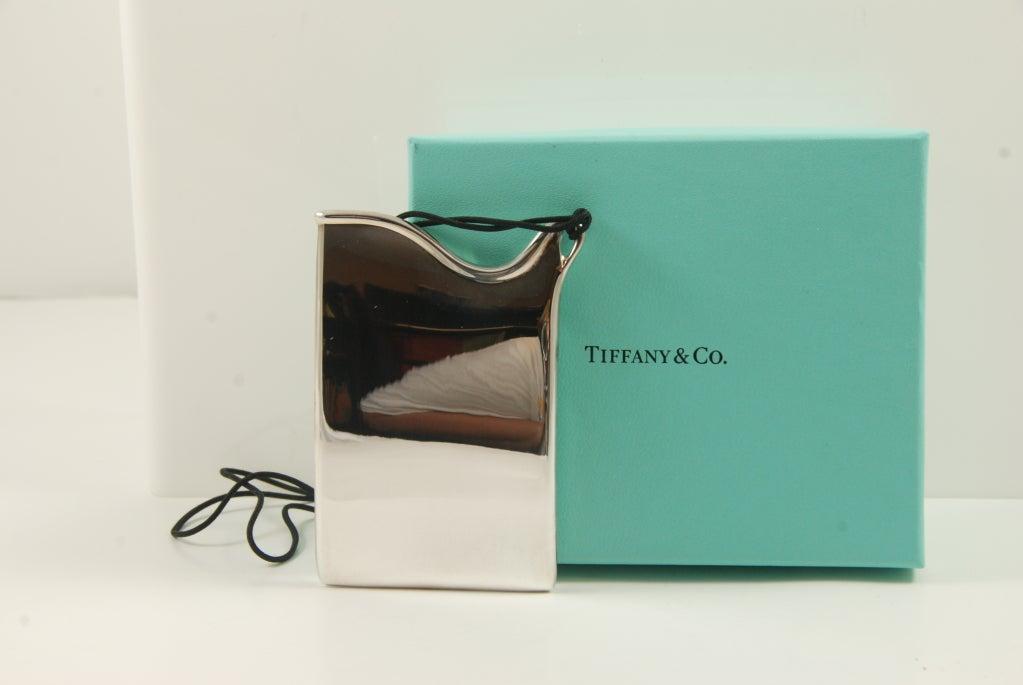 Elsa peretti for tiffany sterling silver business card for Tiffany and co business card holder