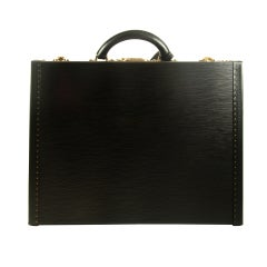 Louis Vuitton Black Epi Leather President Briefcase