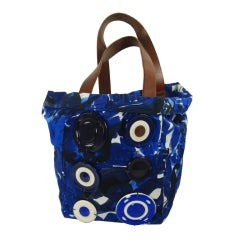 Marni Tote with Decorative Medallions